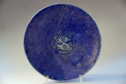 Dish with quatrefoil motif