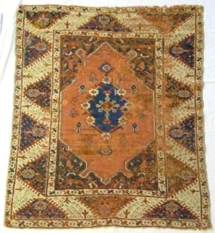 Pile carpet rug