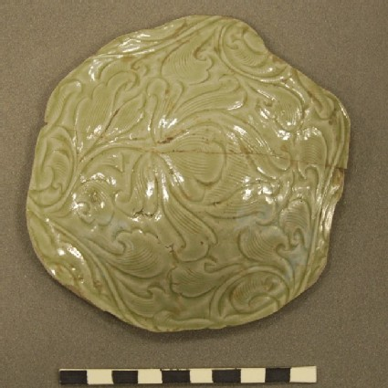 Fragment of a greenware vessel
