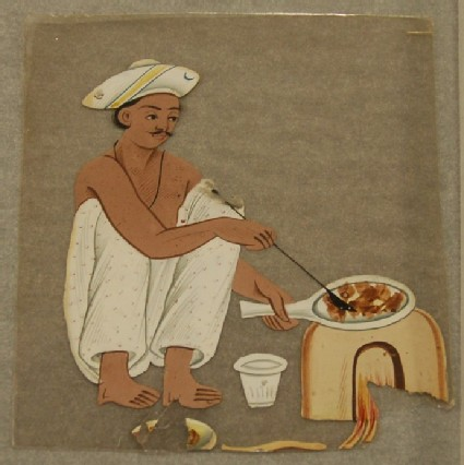 Portrait of a male cook