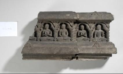 Stone relief panel