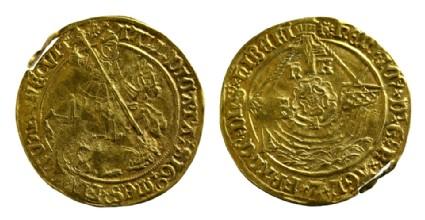 English gold coin