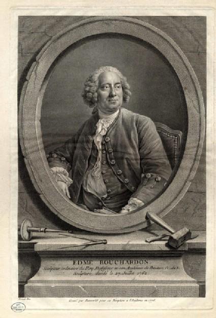 Portrait of Edme Bouchardon