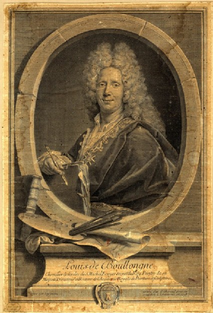 Portrait of Louis de Boullogne