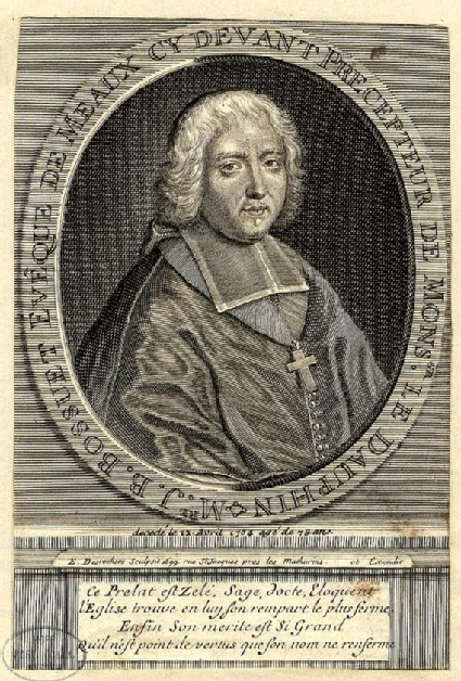 Portrait of Jacques-Beninge Bossuet