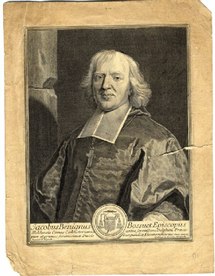 Portrait of Jacques-Beninge Bossuet