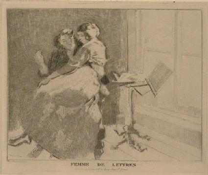 Femme de lettres (B 149)