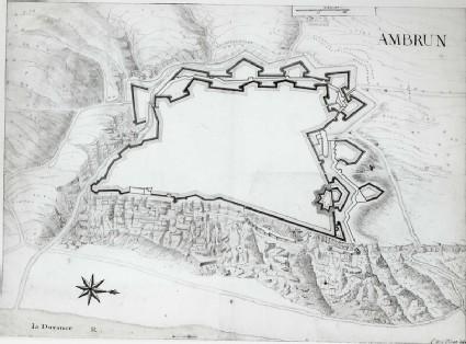 Plan of Embrun