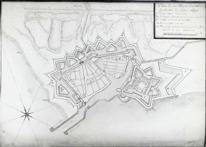 Plan of the Citadel and Town of Le Havre