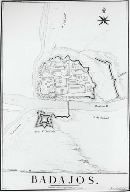 Plan of Badajos