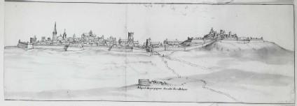 Panoramic View of Perpignan