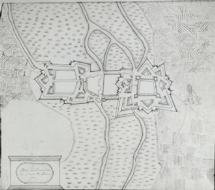 Plan of the Fortifications at Bouchain