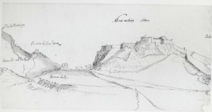 View of the Fortress at Montmélian