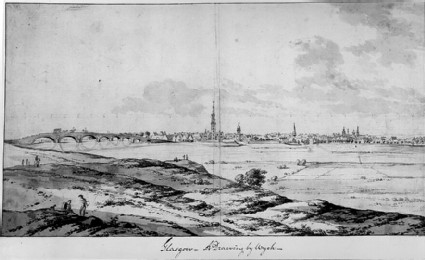 View of Glasgow from the South