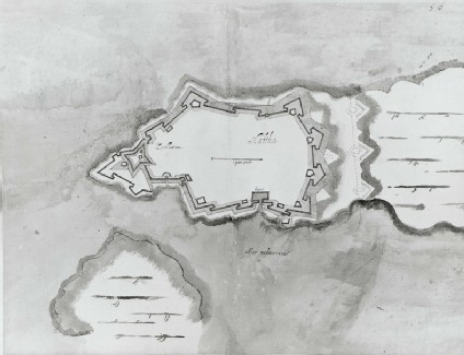 Plan of the Fortifications of Valletta