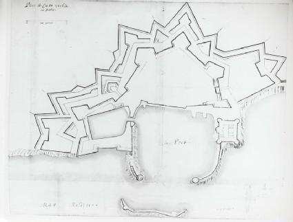 Plan of Civitavecchia