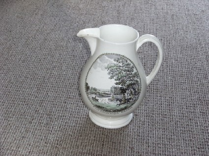 Stag chase jug