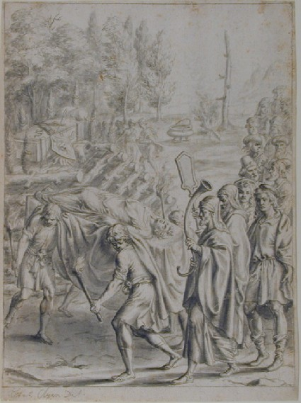 The Funeral of Misenus (A design for Virgil's 'Aeneid', Book VI)
