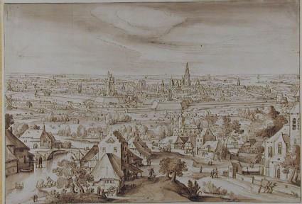 Distant View of Antwerp