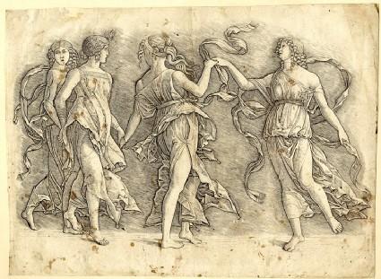 Four Women Dancing