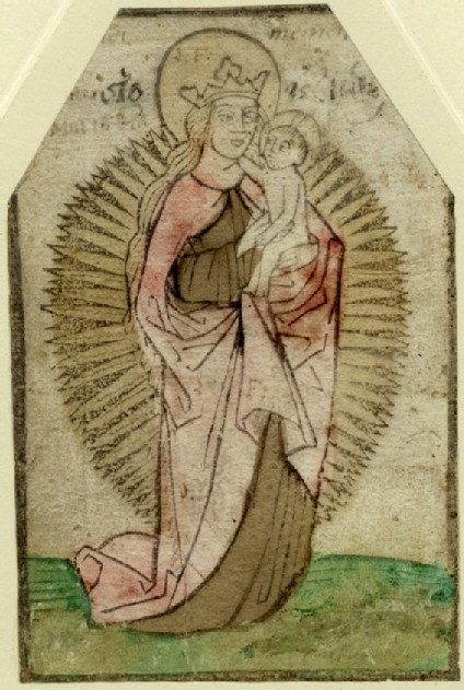 The Virgin and Child in a Halo of Rays