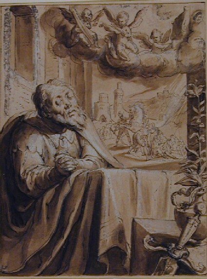 Saint Paul (Saul of Tarsus) in Penitence