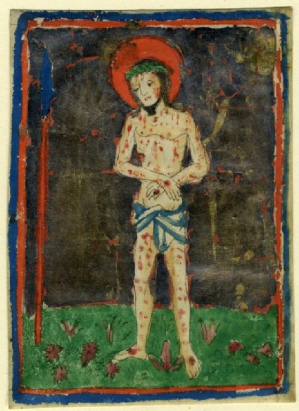 The Man of Sorrows standing