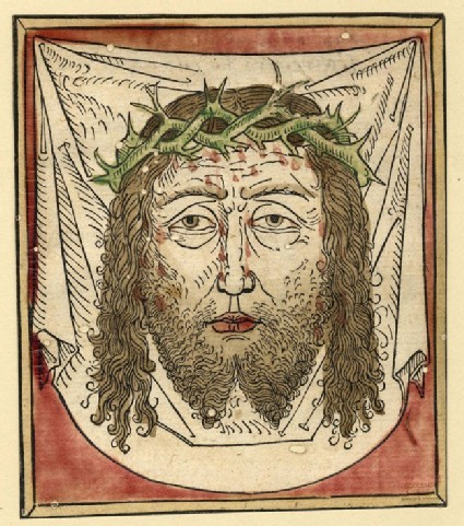The Face of Christ, on the Sudarium