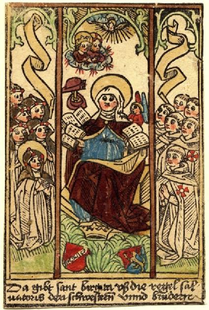 Saint Bridget (triptych)