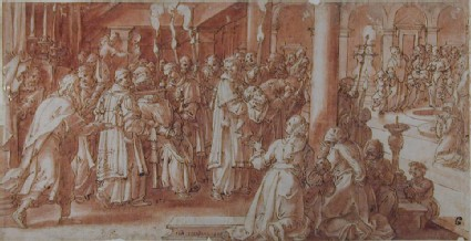 Scene from the Story of Pope Stephen I