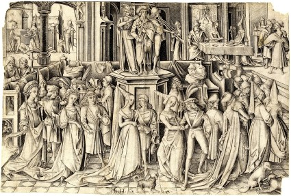 The Dance at the court of Herod
