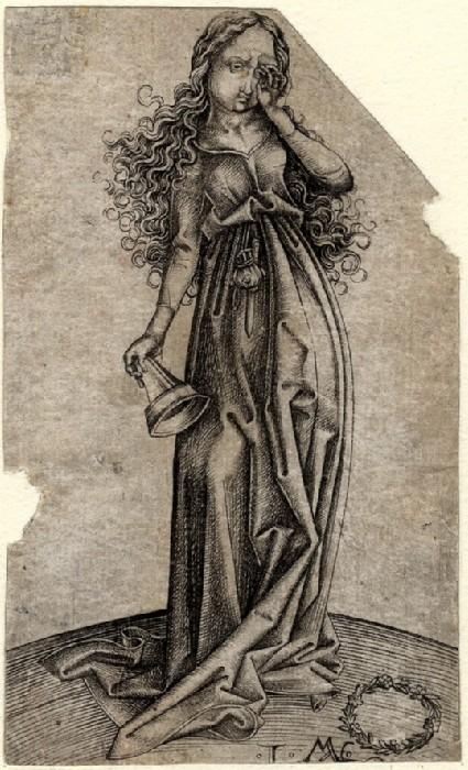 The third foolish Virgin, copy in reverse