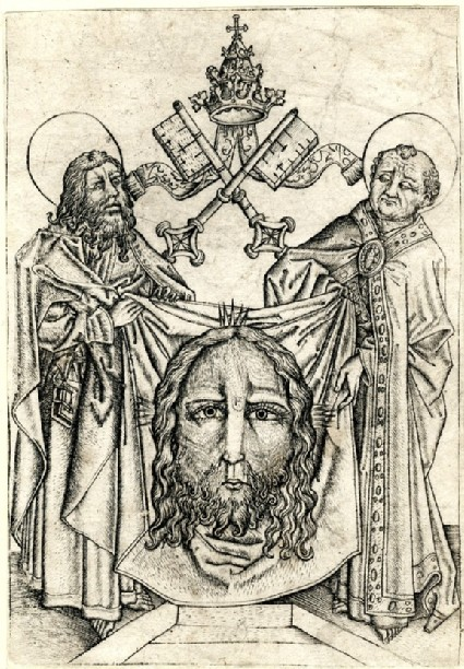 St Peter and St Paul with the Sudarium