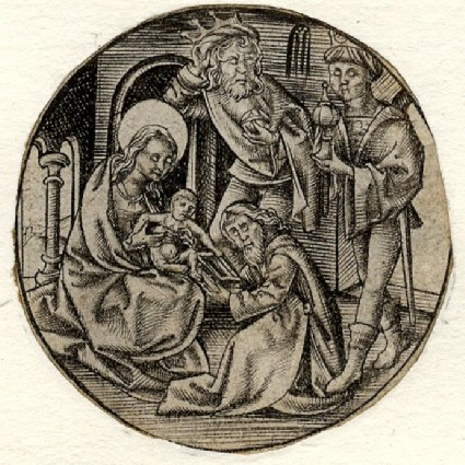 The Adoration of the Magi, from the Designs for Goldsmiths