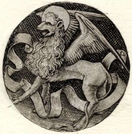 The lion of Saint Mark, copy