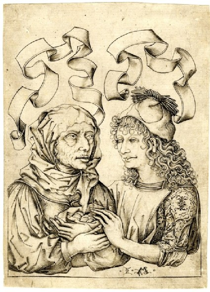 The ill-matched couple, copy in reverse