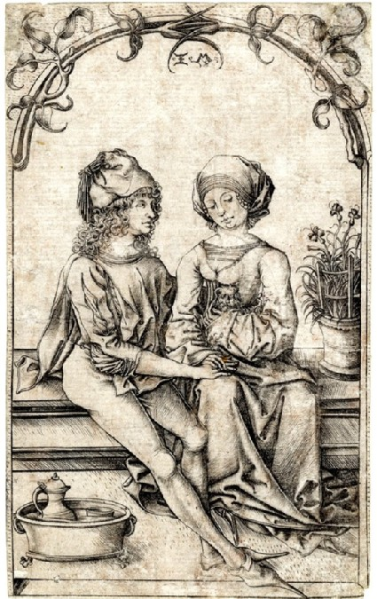 The lovers, copy in reverse