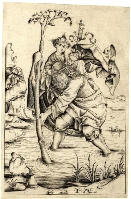 Saint Christopher, copy
