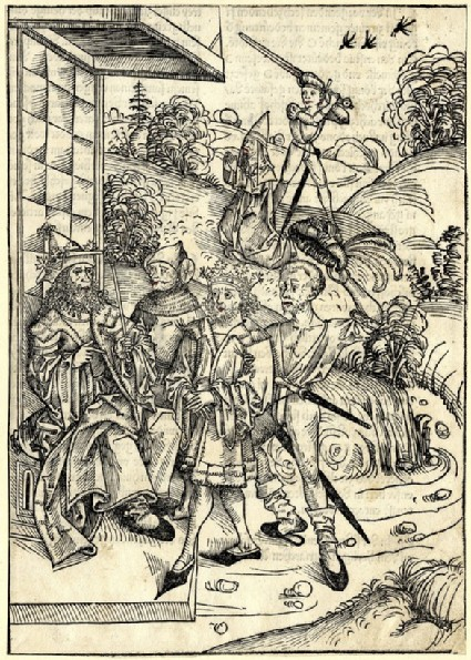 The slaying of the prince