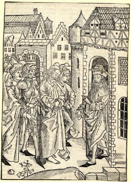 Christ led before Pilate