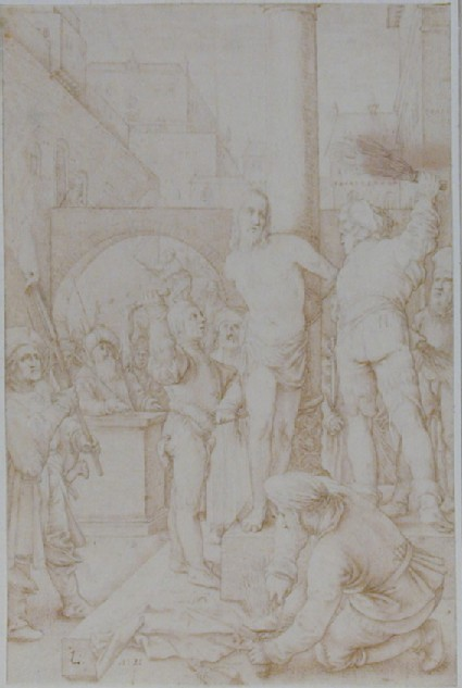 The Flagellation, after Hendrik Goltzius
