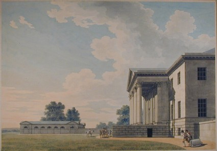 Principal Front of the first design of Gorhambury House
