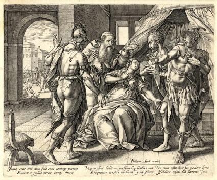 Lucretia's suicide
