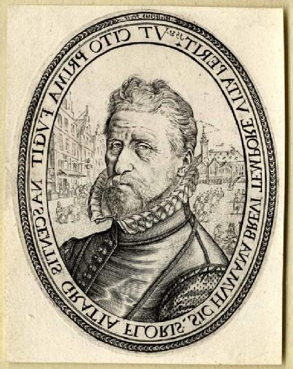 Portrait of Allaert Franz. Schatter