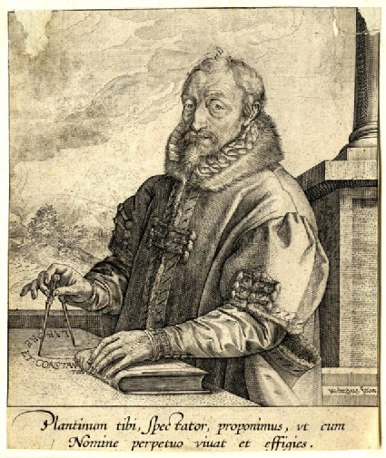 Portrait of Christoph Plantin