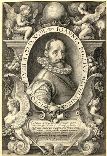 Portrait of Hans Bol
