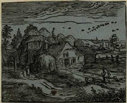 Landscape with a farmhouse