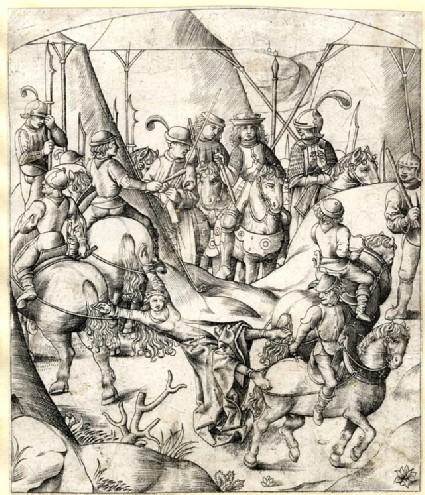 The Execution of Queen Brunhilda