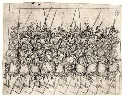 Detachment of twenty-eight cavalrymen
