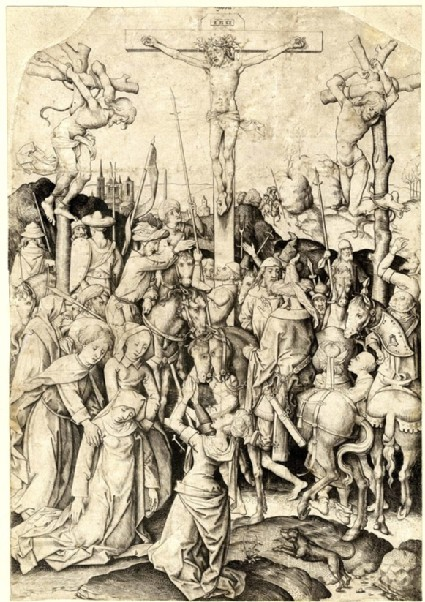 The Large Calvary with the Horsemen